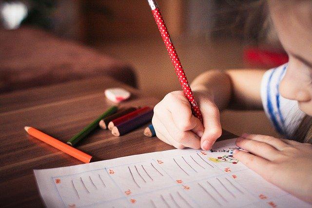 子供 鉛筆