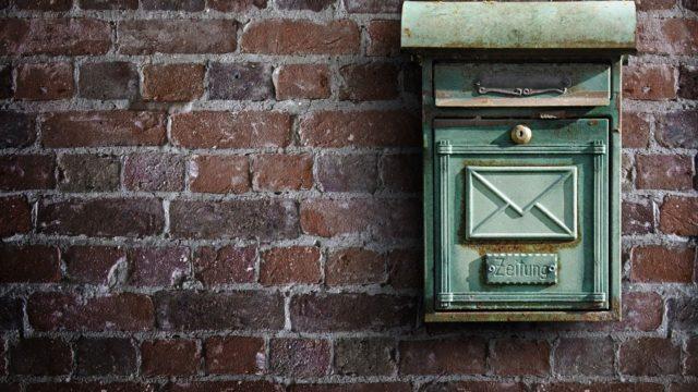 ポスト 郵便