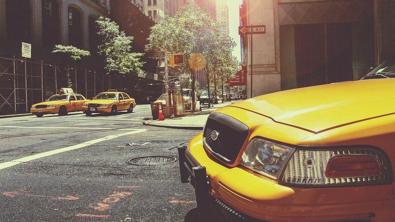 アメリカ タクシー